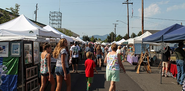 Farmer's Market, Grants Pass, OR