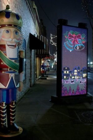 Holiday Murals Grants Pass OR