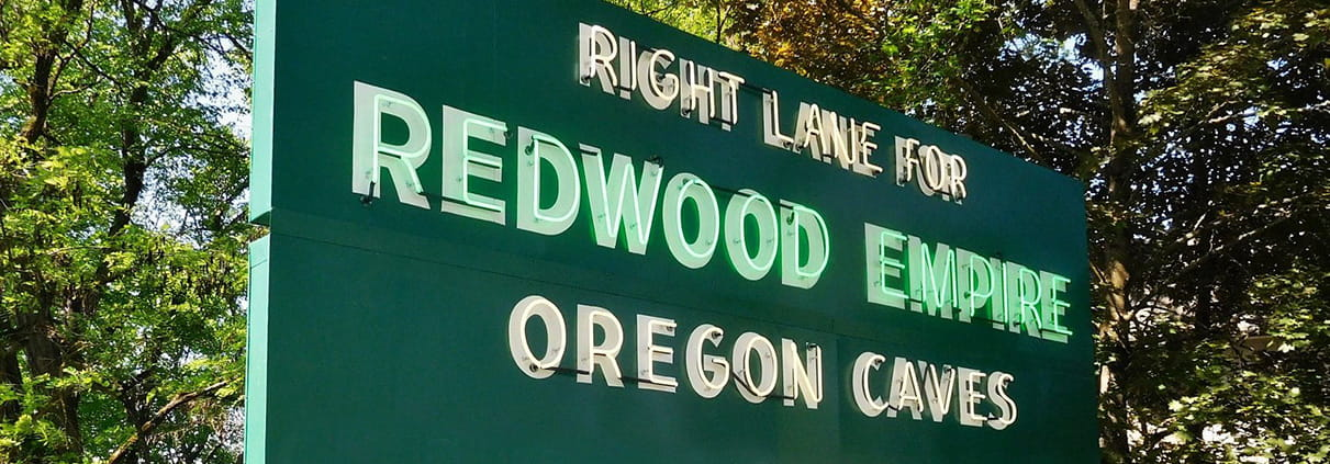 Welcome to the Empire of the Redwoods